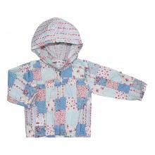 Áo khoác mỏng bé gái 6172 - AN6172 - Size 1 - 6 Years (Ô vuông biển) - GiGi Girls