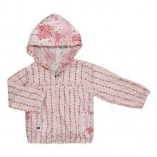 Áo khoác mỏng bé gái 6172 - AN6172 - Size 1 - 6 Years (Ô vuông hồng) - GiGi Girls