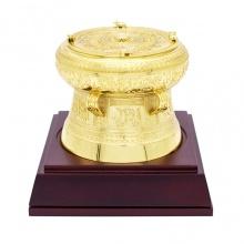 Trống đồng mạ vàng - TDF07