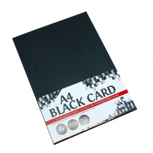 Giấy bìa màu đen A4 6 tờ UBL QB0272
