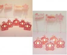 Combo 2 bộ đèn trang trí sinh nhật Kibu - Công chúa