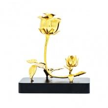 Quà tặng cho nữ giới - Hoa hồng mạ vàng 3 in 1
