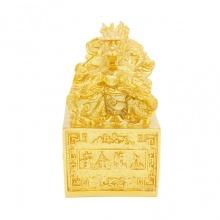 Ấn rồng phong thuỷ mạ vàng 24K