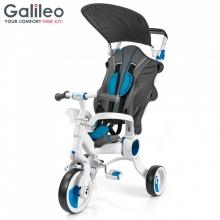 Xe đẩy 3 bánh Galileo màu xanh dương _ G1001-B