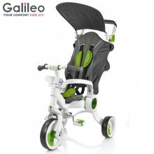 Xe đẩy 3 bánh Galileo màu xanh lá _ G1001-G