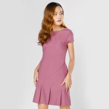 Đầm suông thời trang Eden màu tím - D294