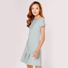 Đầm suông thời trang Eden màu xám - D294
