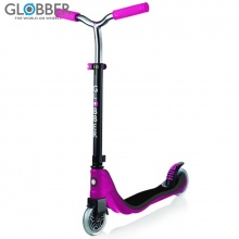 Xe trượt Scooter Globber Flow 125 Lights – Xám/hồng ngọc