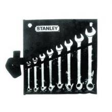 60.-2.2cm bộ cờ lê 2 đầu miệng 8 chi tiết Stanley 87-718