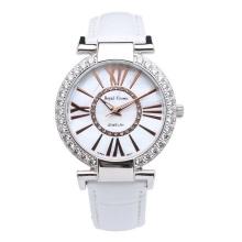 Đồng hồ nữ chính hãng Royal Crown 6116 dây da trắng
