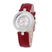 Đồng hồ nữ chính hãng Royal Crown 3628 dây da đỏ