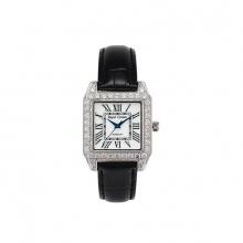 Đồng hồ nữ chính hãng Royal Crown 6104 dây da đen