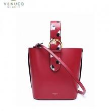 Túi xô quai hoa Venuco Madrid S380 đỏ