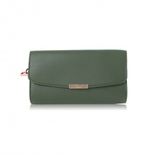 Bóp cầm tay thời trang Verchini màu xanh rêu 009692
