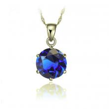 Opal - Mặt dây chuyền đính đá ross xanh _T06