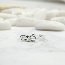 Nhẫn bạc thái cute bow - Tatiana - NB2329 (Bạc)