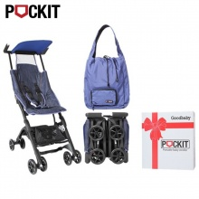 Xe đẩy trẻ em GB Pockit - Vải Jeans