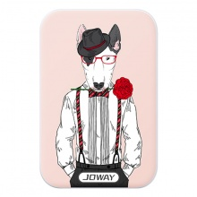 Pin dự phòng JOWAY JP123 hồng 7500mAh