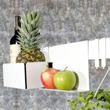 Kệ nhà bếp rack SMLIFE 60cm – Số 1 - Màu trắng