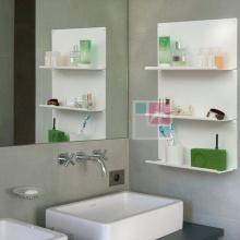 Kệ trang trí nhà tắm SMLIFE L45 (Set 4)- Màu trắng