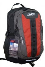 Balo thời trang du lịch HASUN HXK 001 - Đen đỏ