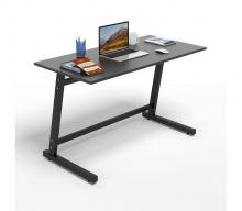 Bộ bàn làm việc CZN-Pisa gỗ cao su sơn đen chân đen và ghế eames đen  - COZINO