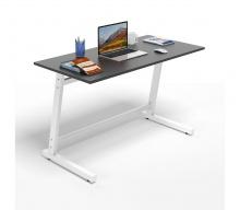 Bộ bàn làm việc CZN-Pisa gỗ cao su sơn đen chân trắng và ghế eames đen  - COZINO
