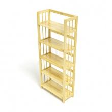 Kệ sách 5 tầng IBIE HB563 gỗ cao su nhiều màu (63x30x150cm)