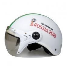 Mũ bảo hiểm World Cup Russia KC 2018 (Trắng sọc)