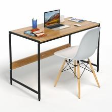 Bộ bàn làm việc CZN-Airy gỗ tự nhiên veneer sồi chân đen sồi và ghế eames trắng  - COZINO