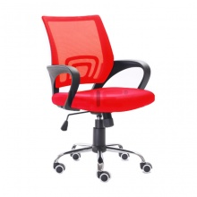 Ghế văn phòng IBIE IB517 màu đỏ