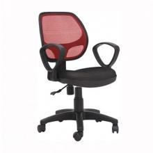 Ghế lưới IBIE IB501 có tay màu đỏ