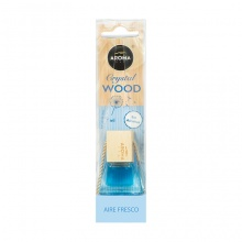 Tinh dầu treo xe ô tô Aroma Car Crystal Wood 7ml - Fresh Air (hương nhẹ mát)