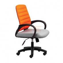 Ghế văn phòng IBIE IB1018 cao cấp màu cam