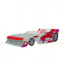 Giường IBIE  xe đua công thức F1 màu đỏ nhiều kích thước
