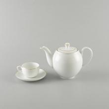Bộ trà Minh Long 0.5 L - Camellia bắt chỉ vàng
