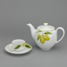 Bộ trà Minh Long 0.8 L - Camellia quả chanh