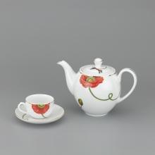 Bộ trà Minh Long 0.8 L - Camellia kết duyên