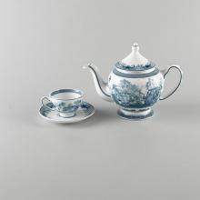 Bộ trà Minh Long 0.8 L hoàng cung hồn quê