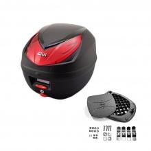 Thùng đựng đồ xe máy Givi E250N monolock 25 lít hàng chính hãng
