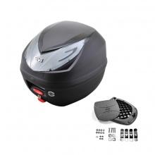 Thùng đựng đồ xe máy Givi E250N2 monolock 25 lít
