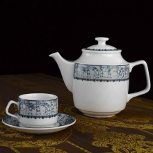Bộ trà Minh Long 1.1 L Jasmine vinh quy nhạt