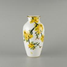 Bình hoa 27 cm Minh Long hoa mai