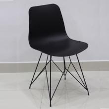 Ghế cafe ghế ăn nhựa chân thép sơn tĩnh điện – Mã: 213