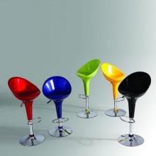 Ghế quầy bar nhựa chân cao - Mã: 419