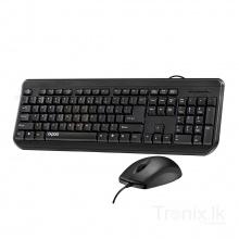 Bộ bàn phím chuột Rapoo NX1700 NEW