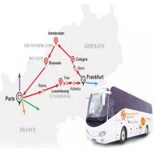 Tour Châu Âu - Tuyến đỏ - Tour 7 ngày Đức • Hà Lan • Bỉ • Pháp • Luxembourg 2.184.000VND/ngày
