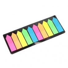 Thẻ note dạ quang 2 màu