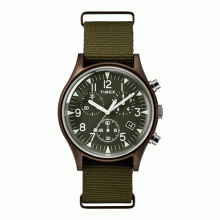 Đồng hồ nam Timex MK1 Aluminum Chronograph 40mm - TW2R67800