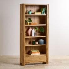 Tủ kệ sách cao Emley gỗ sồi - Cozino